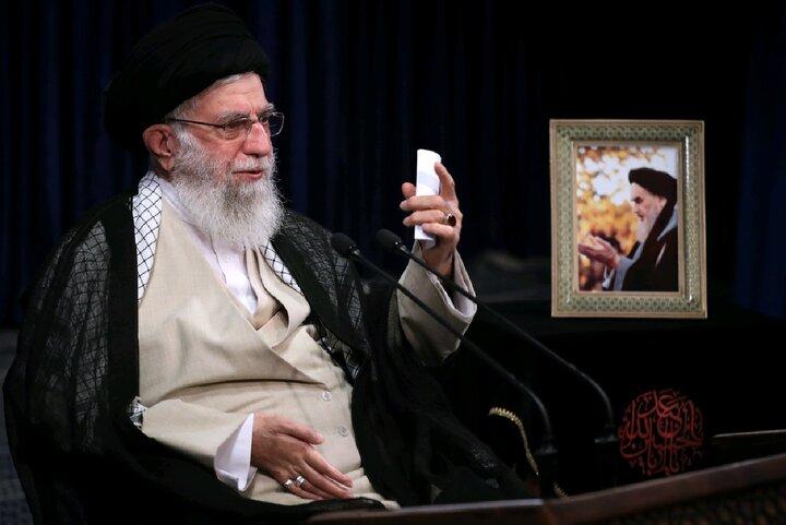 بیانات مقام معظم رهبری در ارتباط تصویری با جلسه هیات دولت