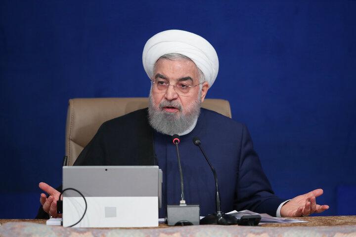 روحانی: تولید کشور خوب است، در توزیع مشکل داریم + فیلم