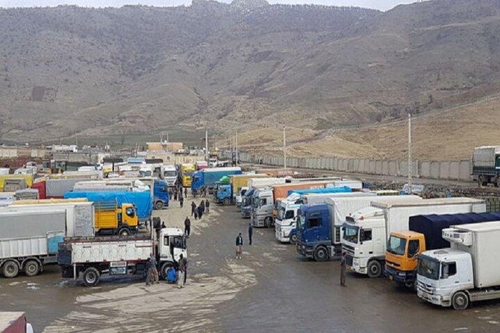 صادرات ۱۸۳ میلیون دلار کالا از مرز مهران به عراق