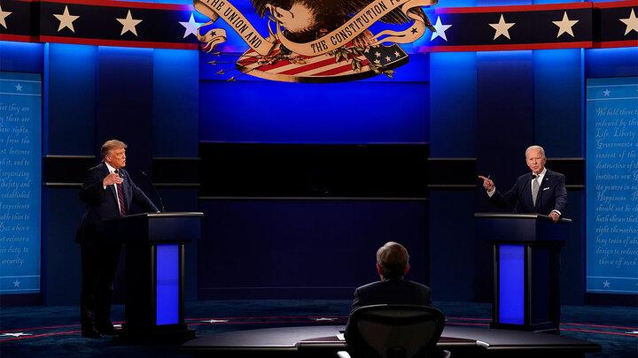 محورهای مناظره آخر بایدن و ترامپ مشخص شد