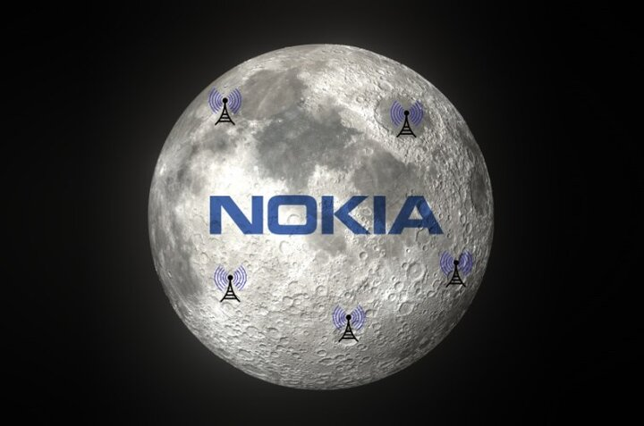 نوکیا اینترنت را به ماه میبرد