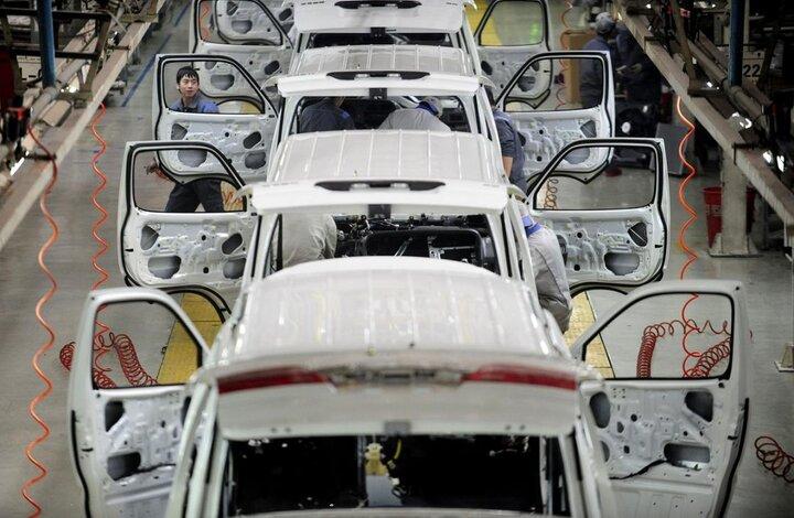 رشد ۱۸.۸ درصدی تولید خودروی سواری