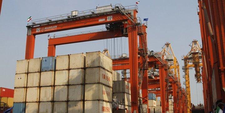 کارنامه تجارت کالایی غیر نفتی ایران؛ ۶ ماهه نخست ۱۴۰۰+اینفوگرافیک