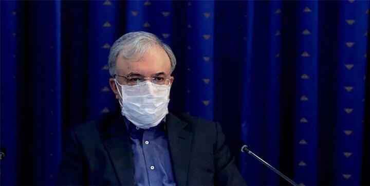 وزیر بهداشت: واکسیناسیون کرونا در ایران از سهشنبه آغاز میشود