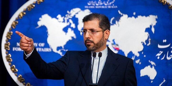 سخنگوی وزارت خارجه: گفتوگوهای جامع ایران با اتحادیه اروپا تعلیق شد
