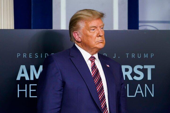 ترامپ: وضعیت آمریکا شرم آور است/چاره ای جز انتخاب مجدد من در سال ۲۰۲۴ نیست!