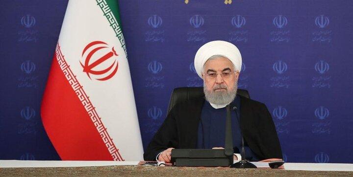روحانی: فعال شدن برجام منوط به لغو تحریمها از سوی آمریکا و ایفای تعهدات کامل همه اعضا است