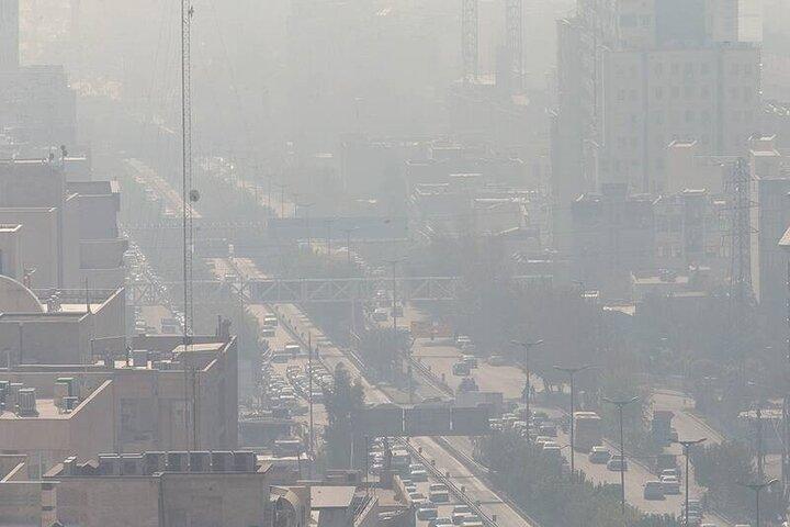 کاهش موقت آلودگی هوای کلانشهرها به علت وزش باد