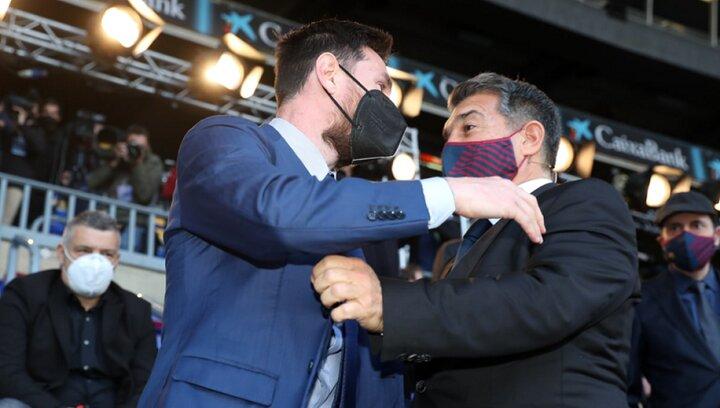 پیام احساسی رئیس بارسلونا به لیونل مسی