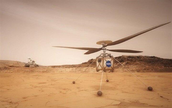 انتظارها برای نخستین پرواز بالگرد مریخی ناسا در سیاره سرخ + تصاویر