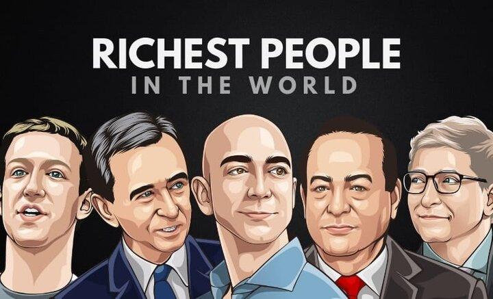 ثروتمندترین مردان و زنان جهان را بشناسید + تصاویر
