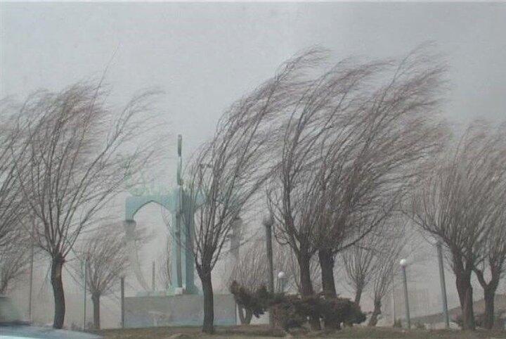 رگبار باران، وزش باد شدید، رعدوبرق در برخی از استانها