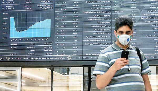 نخستین روز سبزپوشی بازار سهام دراین هفته/ رشد ۷ هزار و ۲۴۸ واحدی شاخص کل بورس + نقشه بازار
