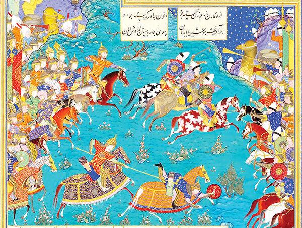 مانور هنر ایرانی در اروپا