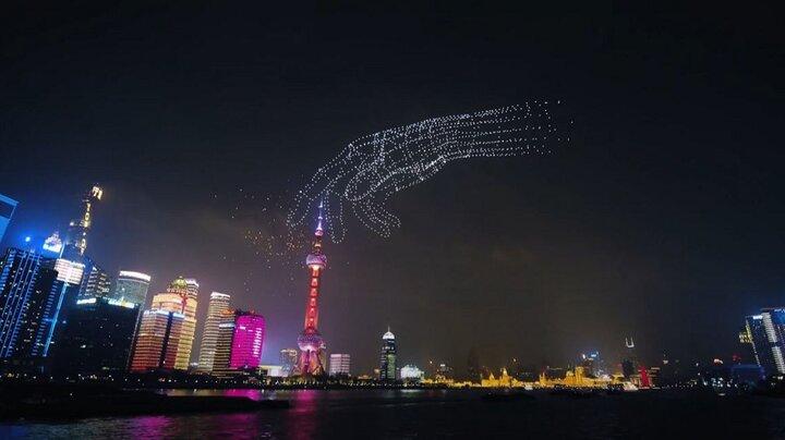 ثبت رکورد تاریخی با پرواز همزمان ۳۲۸۱ پهپاد در شانگهای
