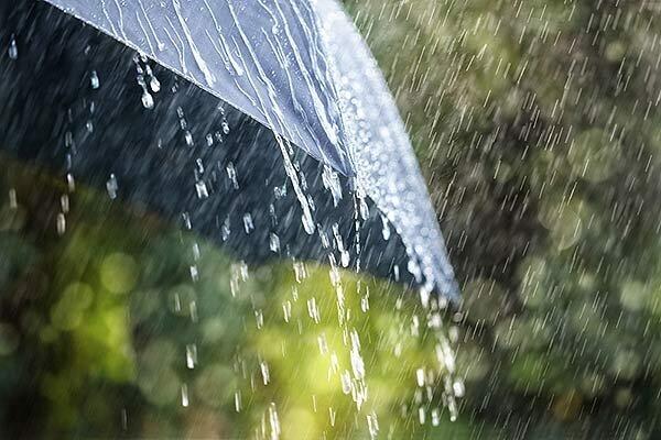 پیش بینی بارش باران تا دوشنبه آینده در برخی استانها