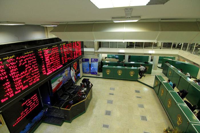 افت ۱۳ هزار و۵۰۰ واحدی شاخص کل بورس / بزرگان بازار سهام سرخ پوش شدند/ فرابورس هم  نزولی شد+ نقشه بازار