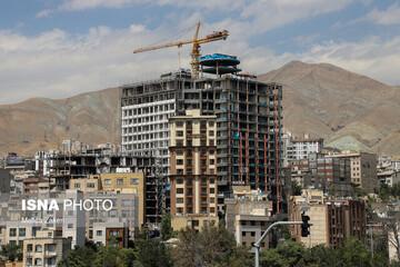 مصالح ساختمانی در تعقیب ملک/برآورد جدید از قیمت تمامشده آپارتمان در تهران