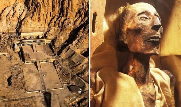 اولین تصویر بازسازی شده از فرعون + تصاویر