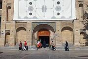 «باب عالی کاخ گلستان» به صورت رسمی بازگشایی شد