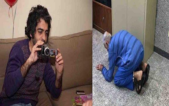 لحظه هولناک انتقال جسد تکه تکه شده بابک خرمدین در چمدان توسط پدر و مادرش + ویدیو