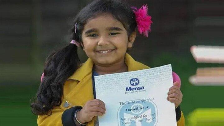 دختری ۳ ساله با هوشی نزدیک به اینشتین!