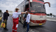 هجوم مسافران تهرانی به پایانههای مسافربری / جریمه تردد کمتر از کرایه خطیها!