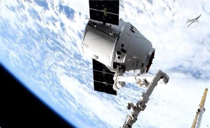 کپسول اسپیس ایکس به ایستگاه فضایی بینالمللی رسید