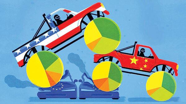 راز سبقت چین و آمریکا از اروپا چیست؟