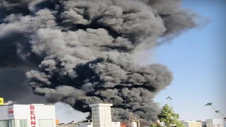جزئیات آتش سوزی در شرکت بهنوش