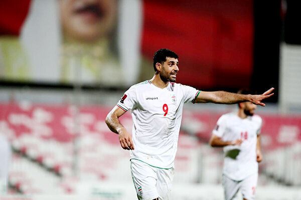 طارمی بهترین بازیکن جدال ایران و بحرین
