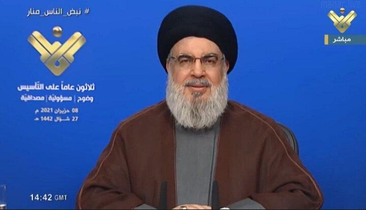 سید حسن نصرالله: از ایران بنزین می خریم ببینم چه کسی می تواند جلوی ما را بگیرد + ویدیو