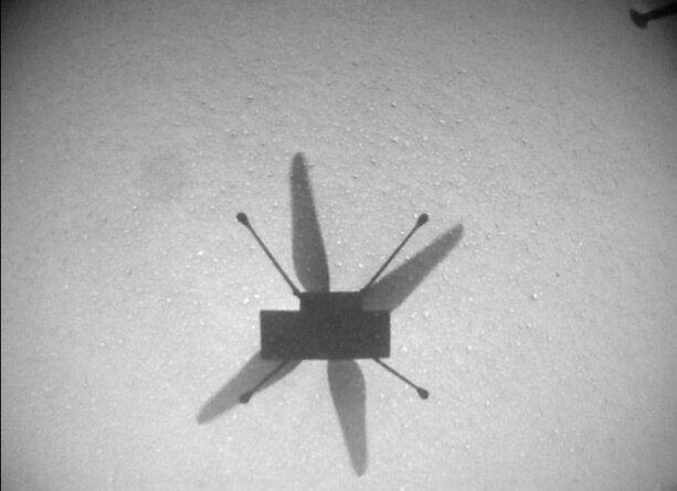 هلی کوپتر «نبوغ» برای هفتمین بار در مریخ پرواز کرد