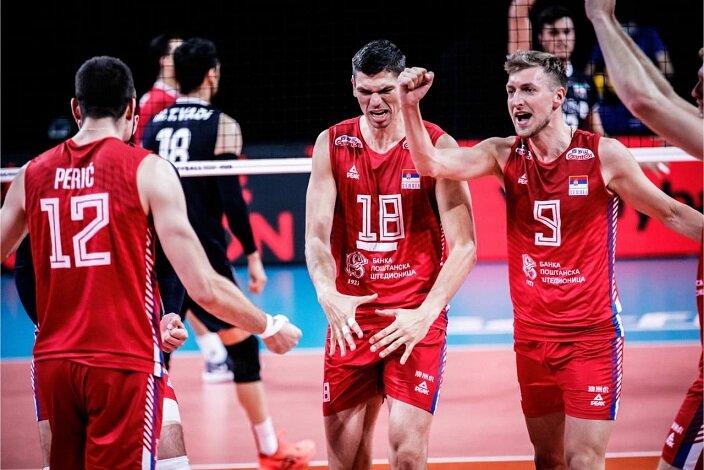 ایران ۲- صربستان ۳؛ باخت به غول ۲۰۲ سانتیمتری