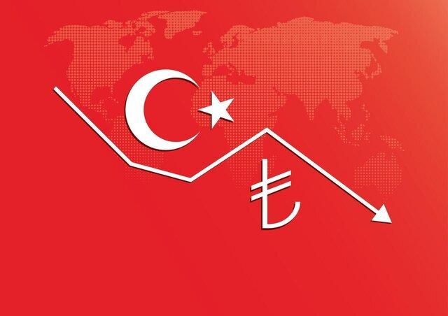 دومینوی ریزش لیر ترکیه