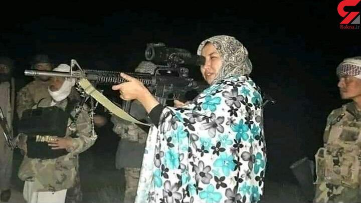 """فرمانده زن مبارزه با """"طالبان""""  کیست؟/ او متولد تهران است/سلیمه مزاری: """"طالبان"""" امروز ما و فردا جهان را می سوزاند +عکس"""