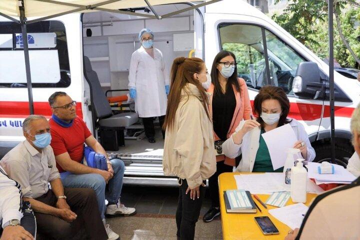 دربست به ارمنستان ۳ میلیون/ واکسن بزنید برای دوستانتان هم بیاورید!