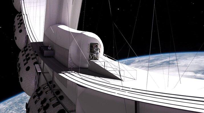رویای هتل فضایی در مسیر تحقق قرار گرفت