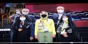 بازگشت بدون سر و صدای ناهید کیانی /وزیر با خانواده در توکیو +عکس