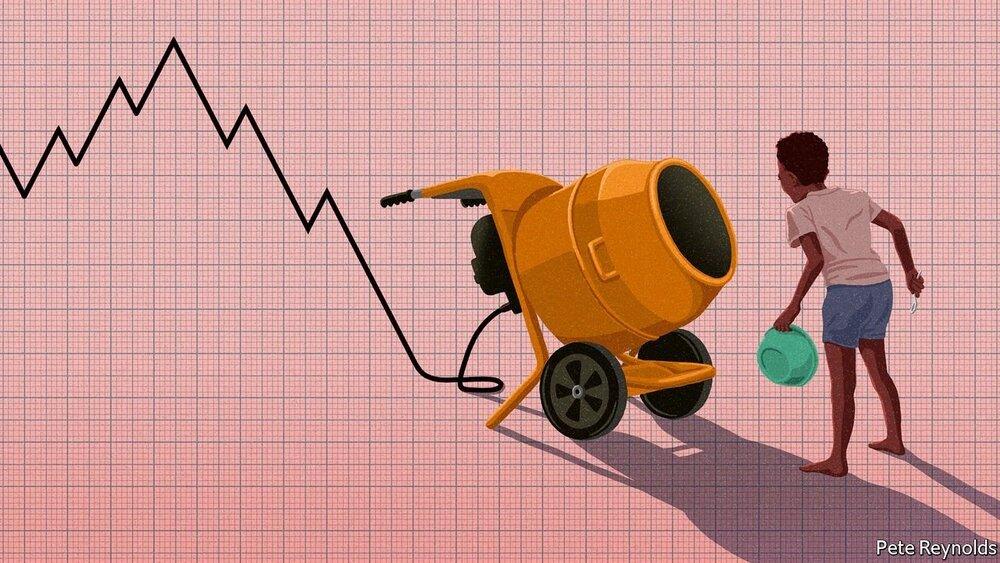 بر باد رفته؛ پایان سوپراستارهای اقتصادی/توقف رشد اقتصادهای نوظهور به روایت اکونومیست/ پــــایــــان دوران طـــــلایی توسعه یافتگی!