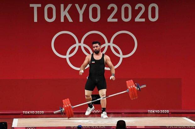 حذف علی هاشمی از مسابقات وزنه برداری/ یک مدال برنز از دست رفت