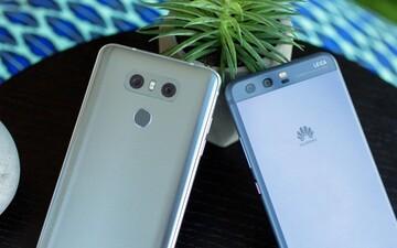 هواوی و الجی، خارج از جمع ۵ شرکت برتر سازنده گوشی هوشمند