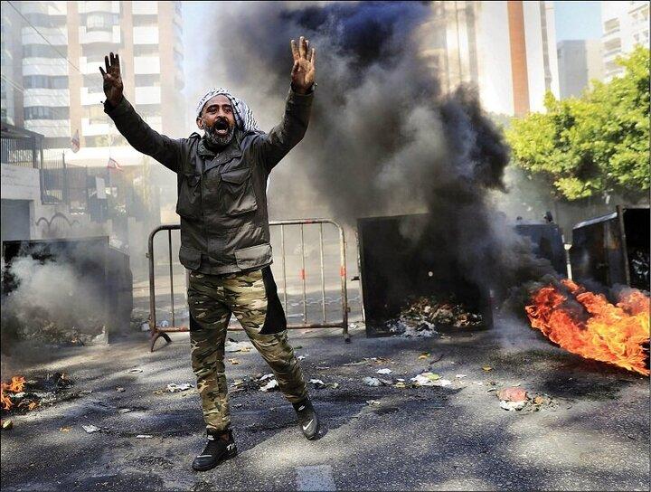 بیروت در آتش بنزین   دوئل آمریکا با ایران بر سر لبنان