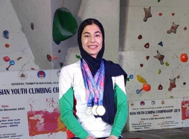 افتخار آفرینی دختر سنگنورد ایران در مسابقات جهانی + ویدیوی مسابقه
