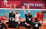 تیم ملی والیبال نشسته ایران ۳ - آلمان صفر / ژرمن ها حریف ملی پوشان ایرانی نشدند + ویدیو