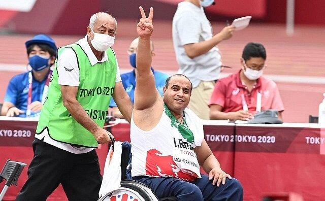 در ادامه رقابتهای نفسگیر پارالمپیک، مختاری نقرهای شد