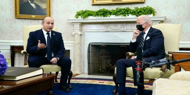 چُرت زدن بایدن در دیدار با  نخستوزیر رژیم صهیونیستی+ فیلم