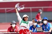 طلا، اولین مدال زنان ایران در پارالمپیک / هاشمیه با رکوردشکنی، قهرمان شد + تصاویر
