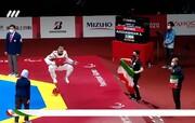 اصغر عزیزیاقدم تکواندوکار ایران، به طلای پارالمپیک رسید