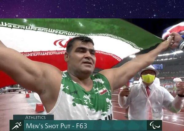سجاد محمدیان پرتابگر وزنه ایران، به نقره پارالمپیک رسید